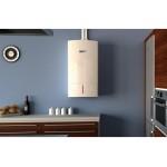 Пакет двуконтурен газов котел Bosch Condens 3000 W 27,4KW, базов димоотвод и термоуправление CR100